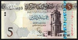 LIBIA (LIBYA) :  5 Dinars - 2015 – PNEW- UNC - Libya
