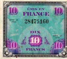 Billet Drapeau France - 10 Francs - 1944 Drapeau/France