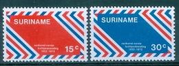 SURINAM  #397-8   The 50th Anniversary Of 1st Airmail In Surinam  2v  - 1972  MNH - Surinam
