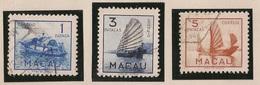 Macau Portugal China Chine 1951 - Embarcações Tipicas De Macao - Ships - Set Complete - Used - Macao