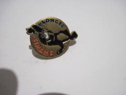 PINS  SIMAME PLONGEE   T.B.E. - Diving