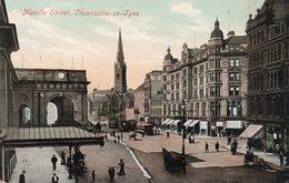 NEVILLE STREET-NEWCASTLE ON TYNE-NON VIAGGIATA-VALENTINE S SERIES-SOUVENIR POST CARD - Newcastle-upon-Tyne