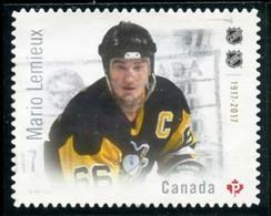 Canada (Scott No.3031 - Grands Légendes / Hockey / Great Legends) (o) - 1952-.... Règne D'Elizabeth II