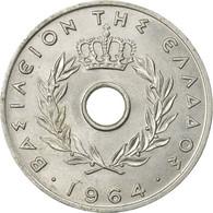 Monnaie, Grèce, 20 Lepta, 1964, SUP, Aluminium, KM:79 - Greece