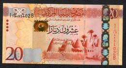 LIBIA (LIBYA) :  20 Dinars, - 2013 - UNC - Libia
