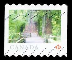 Canada (Scott No.3064 - Canada (Scott No.3066a - Terre De Nos Ayeux) (o) Coil - 1952-.... Règne D'Elizabeth II
