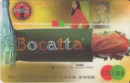 TARJETA TELEFONICA DE ESPAÑA, (PREPAGO). BOCATTA & COCA COLA 1/3. PRE-JAZ-0001 (355). - Espagne