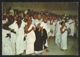 Saudi Arabia Old Picture Postcard Praying At Safa Marwa  Islamic View Card - Arabia Saudita