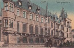 PALAIS GRAND DUCAL. ED PC SCHOREN, CIRCA 1924 VOYAGE. LUXEMBUGO- BLEUP - Luxemburg - Stad