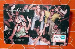 OMNITEL CI SENTIAMO CARICHI 10 € - Italia