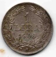 Saint-Marin 1 Lire 1906 - Saint-Marin