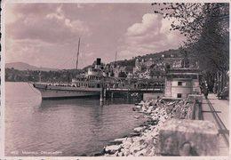 Montreux, Débarcadère Et Bateau à Vapeur (4602) 10x15 - VD Vaud