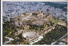 Athens - Acropolis - Formato Grande Viaggiata Mancante Di Affrancatura – E 7 - Grecia
