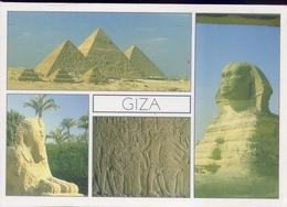 Giza - Pyramids - Formato Grande Non Viaggiata – E 7 - Gizeh