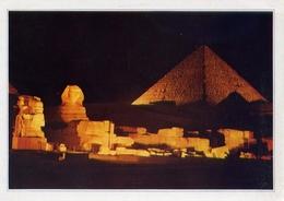 Giza - Sound And Light - Ot The Pyramids Of Giza - Formato Grande Viaggiata – E 7 - Gizeh
