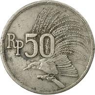 Monnaie, Indonésie, 50 Rupiah, 1971, B+, Copper-nickel, KM:35 - Indonésie