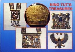Cairo Eguptian Museum - Tutankamen's Treasures - Formato Grande Viaggiata – E 7 - Cairo