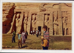 Egypt - Egitto - The Temple Of Abu Sembel - Formato Grande Viaggiata – E 7 - Egitto