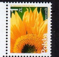 2015 Poland - Flowers - Standart Set - Sonwlower - MNH** MI 4775 - Other