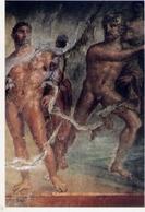 Ercolano - Scavi - Collegio Degli Augustali - Affresco Raffigurante Ercole - Nettuno E Animone - Formato Grande Non Viag - Ercolano