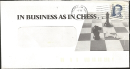 J) 1940 UNITED STATES, IN BUSINESS AS IN CHESS, CLAIRE CHENNAULT, FLIYING TIGERS, STAMP ON STAMP, WITH SLOGAN CANCELLATI - Covers & Documents