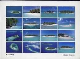 Maldives - - Hotel Islands - Formato Grande Viaggiata – E 7 - Maldives