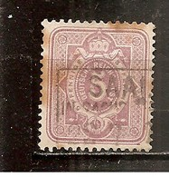 Alemania-Germany Yvert 31 (usado) (o) (manchas De óxido) - Alemania