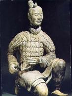 Figura De Un Arquero Acorazado De Rodillas - Formato Grande Non Viaggiata – E 7 - Cartoline