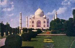 Taj Mahal - Agra - Formato Grande Viaggiata – E 7 - Cartoline