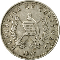 Monnaie, Guatemala, 10 Centavos, 1990, TTB, Copper-nickel, KM:277.5 - Guatemala