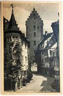 Meersburg (Bodensee) Obertor Und Bären - Kunstverlag Erwin Burda, Freiburg I. Br. - TTB - Meersburg