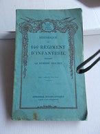 HISTORIQUE 146e 146 REGIMENT INFANTERIE WWI GGI 1914 1918 Grande Guerre Caserne Ney TOUL - Guerre 1914-18