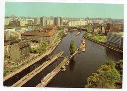 Allemagne --1981--Capitale De La RDA -- Vue Sur L'écluse (péniches) - Allemagne