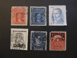3375/35 - CHILE - EXCELLENT GROUP OF OLD STAMPS - VERY FINE CONDITIONS - Chile