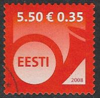 Estonia 2008 Definitive 5k.50 Good/fine Used [38/31480/ND] - Estonia