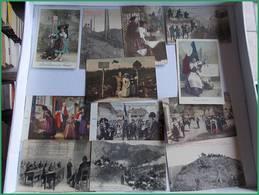 WWI GGI 1914 1918 LOT CPA Militaria Militaires CPA THEME ALSACE Reconquete Grande Guerre - Guerra 1914-18