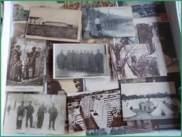 WWI GGI 1914 1918 LOT CPA Militaria Militaires Tranchées Fantaisies Soldats Régiment à Déterminer - Guerre 1914-18