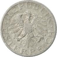 Monnaie, Autriche, 50 Groschen, 1947, TB+, Aluminium, KM:2870 - Autriche