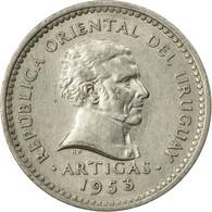 Monnaie, Uruguay, 5 Centesimos, 1953, Santiago, TTB, Copper-nickel, KM:34 - Uruguay
