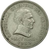 Monnaie, Uruguay, 10 Centesimos, 1953, Santiago, TTB, Copper-nickel, KM:35 - Uruguay