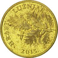 Monnaie, Croatie, 5 Lipa, 2015, TTB, Brass Plated Steel - Croatia