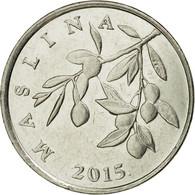 Monnaie, Croatie, 20 Lipa, 2015, TTB+, Copper-Nickel-Zinc - Croatia