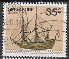 SINGAPORE 1980  NAVI YVERT. 340 USATO VF - Singapore (1959-...)