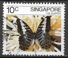 SINGAPORE 1982 FARFALLE YVERT. 385 USATO VF - Singapore (1959-...)
