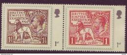 Se Tenant Pair Of 2010 GB 1924 British Empire Exhibition Design Stamps SG 3067 & 3068 UM/MNH - Unused Stamps