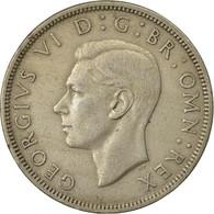 Monnaie, Grande-Bretagne, George VI, 1/2 Crown, 1951, TTB, Copper-nickel, KM:879 - 1902-1971 : Monnaies Post-Victoriennes