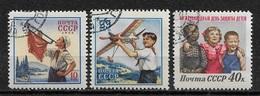Russia/USSR 1958,Protection Of Children,Scott # 2068-2070,VF Used NH**OG (RU-3) - 1923-1991 USSR