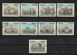 Russia/USSR 1955,9 Stamps Soviet Pavilions Soviet ВДНХ/VDNKh,Scott # 1770//85,VF Used (RU-3) - 1923-1991 USSR