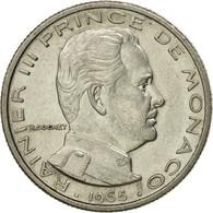 Monnaie, Monaco, Rainier III, 1/2 Franc, 1965, SUP, Nickel, KM:145 - Mónaco