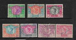 South Africa ,GViR, 1946 1952 Revenue Stamps 3d, 6d, 1/-, 2/-, 2/6, 10/- £1 Used - Zuid-Afrika (...-1961)